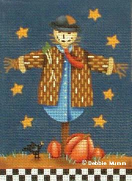 click here to view larger image of Patches the Scarecrow (hand painted canvases)