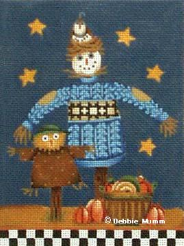 click here to view larger image of Birdy the Scarecrow (hand painted canvases)