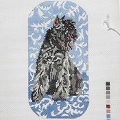 click here to view larger image of Bouvier des Flandres EGC (hand painted canvases)