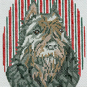 click here to view larger image of Bouvier des Flandres Ornament (hand painted canvases)