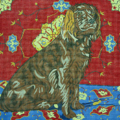 click here to view larger image of Boykin Spaniel (hand painted canvases)