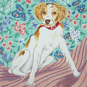 click here to view larger image of Brittany Spaniel (hand painted canvases)
