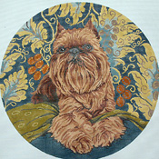 click here to view larger image of Brussels Griffon (hand painted canvases)