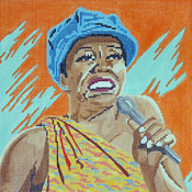 click here to view larger image of Betty Carter (hand painted canvases)