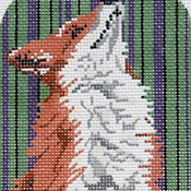 click here to view larger image of Fox EGC (hand painted canvases)