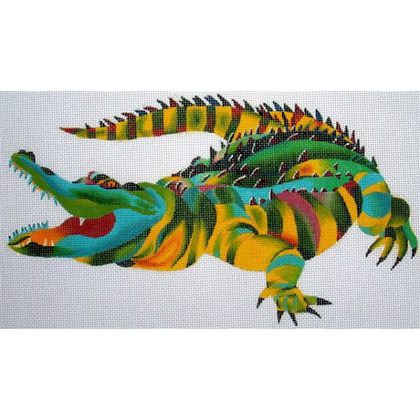 click here to view larger image of Crocodile (hand painted canvases)