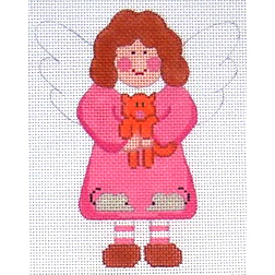 click here to view larger image of Angel of Cats (hand painted canvases)