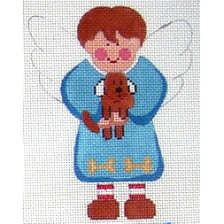 click here to view larger image of Angel of Dogs (hand painted canvases)