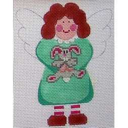 click here to view larger image of Angel of Rabbits (hand painted canvases)