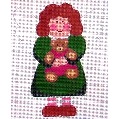 click here to view larger image of Angel of Teddy Bears (hand painted canvases)
