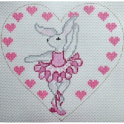 click here to view larger image of Ballerina Bunny (hand painted canvases)