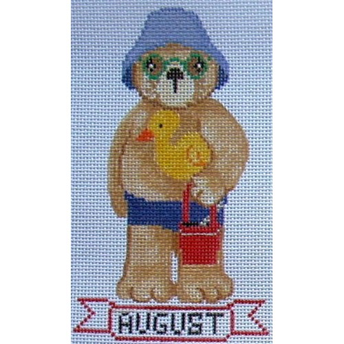 August - Beach hand painted canvases