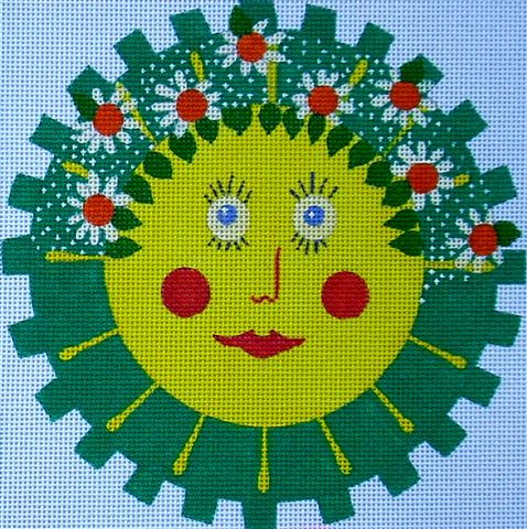 click here to view larger image of Spring Sun (hand painted canvases)