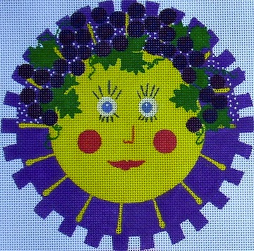 click here to view larger image of Summer Sun (hand painted canvases)