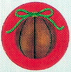 click here to view larger image of Basketball Ornament (hand painted canvases)