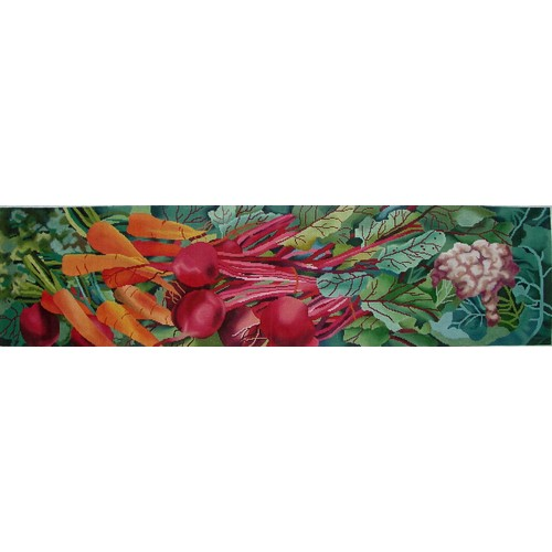 click here to view larger image of Farmer�s Market (hand painted canvases)