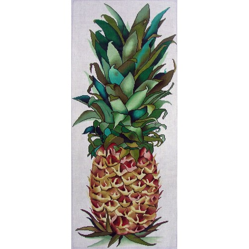 click here to view larger image of Pineapple Small (hand painted canvases)