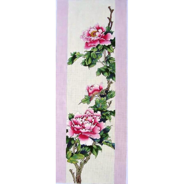 click here to view larger image of Spring - Peonies (hand painted canvases)