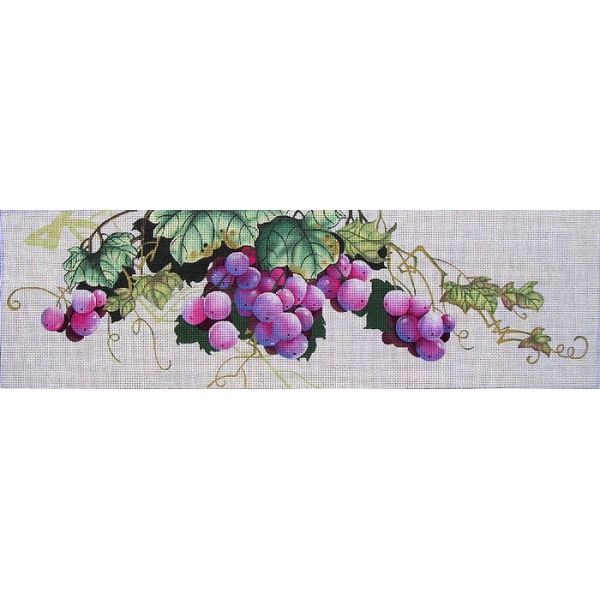 click here to view larger image of Grapes (hand painted canvases)