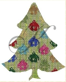 click here to view larger image of Jingle Bells Tree Stitch Guide (books)