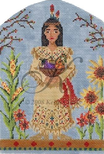 click here to view larger image of Indian Maiden Stitch Guide (books)