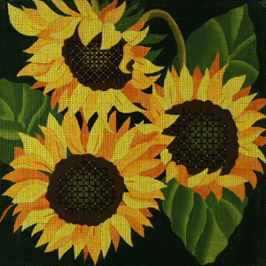 click here to view larger image of Giant Sunflowers (hand painted canvases)