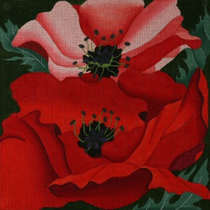 click here to view larger image of Giant Poppies (hand painted canvases)