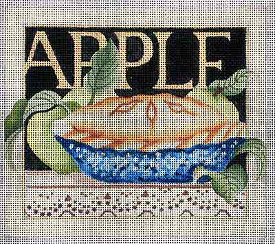 click here to view larger image of Apple Pie (hand painted canvases)
