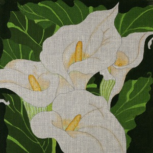 click here to view larger image of Giant Calla Lilies (hand painted canvases)