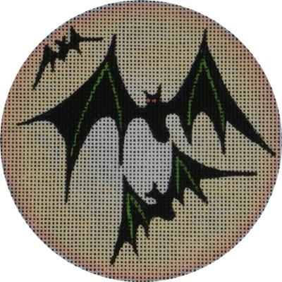 click here to view larger image of Moon Bats (hand painted canvases)