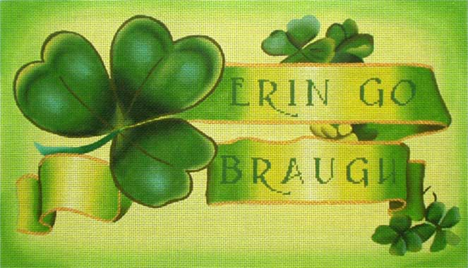 click here to view larger image of Erin Go Braugh (hand painted canvases)