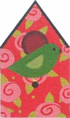 click here to view larger image of Rose Birdhouse (hand painted canvases)