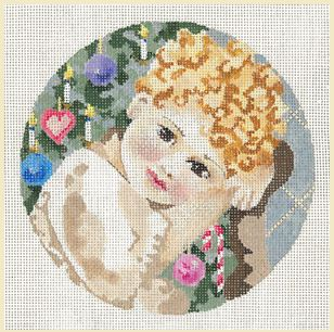 click here to view larger image of Little Carol Janice (hand painted canvases)