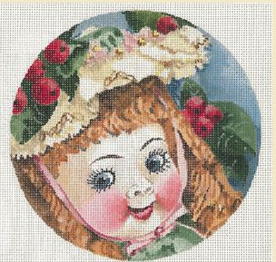 click here to view larger image of German Doll Hilda (hand painted canvases)