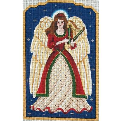 click here to view larger image of Christmas Angel (hand painted canvases)