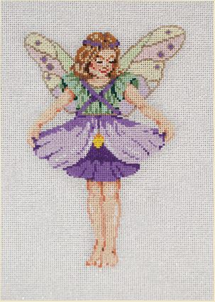 click here to view larger image of Pansy (hand painted canvases)