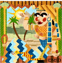 click here to view larger image of Cleopatra - Wild Women (hand painted canvases)