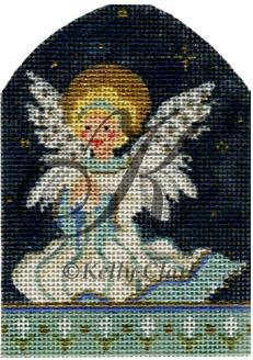 Littlest Angel, The hand painted canvases