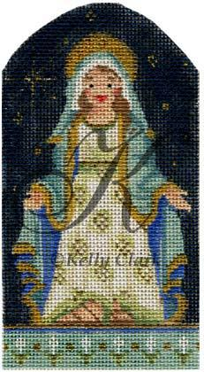 click here to view larger image of Virgin Mary (hand painted canvases)
