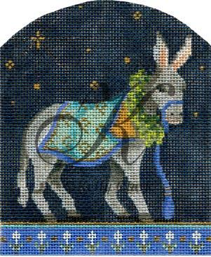 click here to view larger image of Petite Donkey (hand painted canvases)