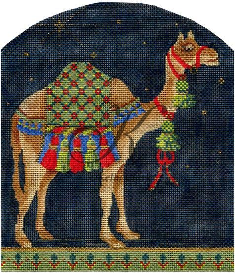click here to view larger image of Grand Camel (hand painted canvases)
