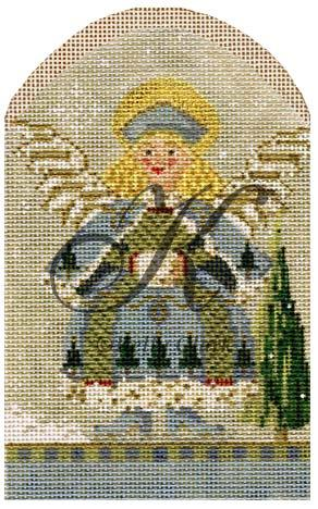 click here to view larger image of January Angel of Winter (hand painted canvases)