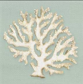 click here to view larger image of Coral (hand painted canvases)