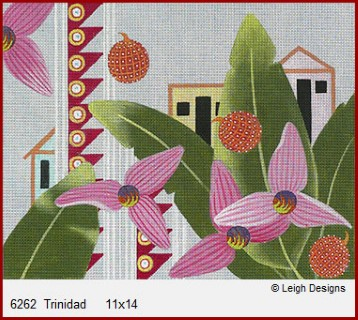 click here to view larger image of Trinidad (hand painted canvases)