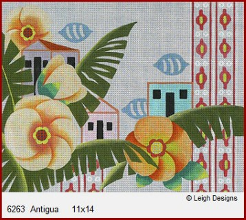 click here to view larger image of Antigua (hand painted canvases)