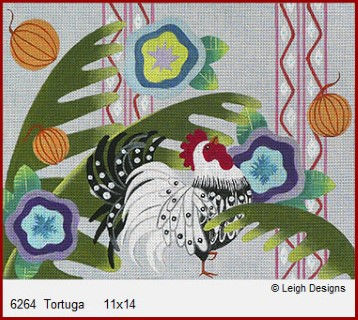 click here to view larger image of Tortuga (hand painted canvases)