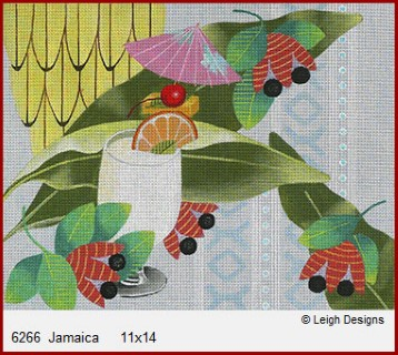 click here to view larger image of Jamaica (hand painted canvases)
