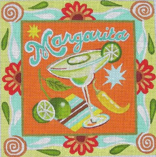 click here to view larger image of Margarita (hand painted canvases)