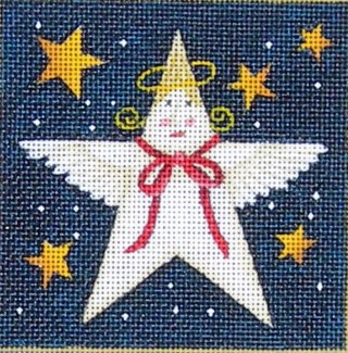 click here to view larger image of Angel Star (hand painted canvases)