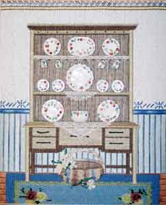 click here to view larger image of Country Hutch (hand painted canvases)